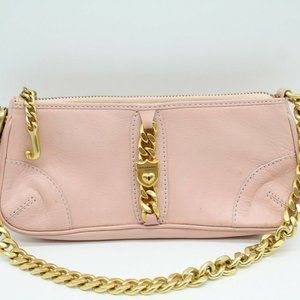 Juicy Couture Pink Small Leather Handbag